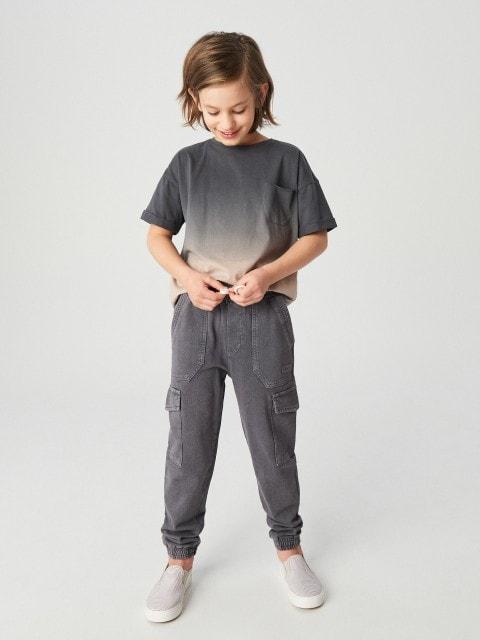 Jogpants mit Taschen und Wascheffekt