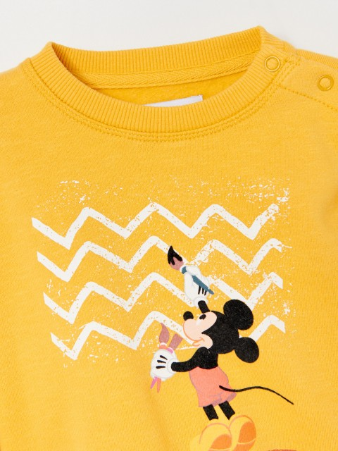 Baumwoll-Sweatshirt Mickey Mouse