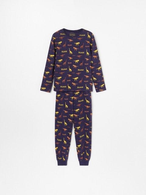 Pyjama mit Dinosauriermotiven