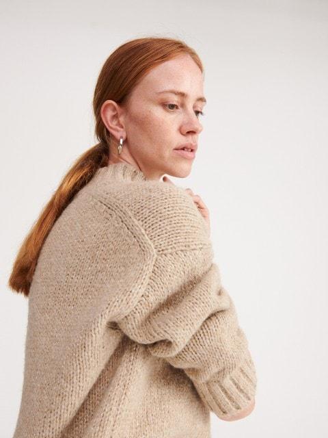 Pullover mit Wollbeimischung