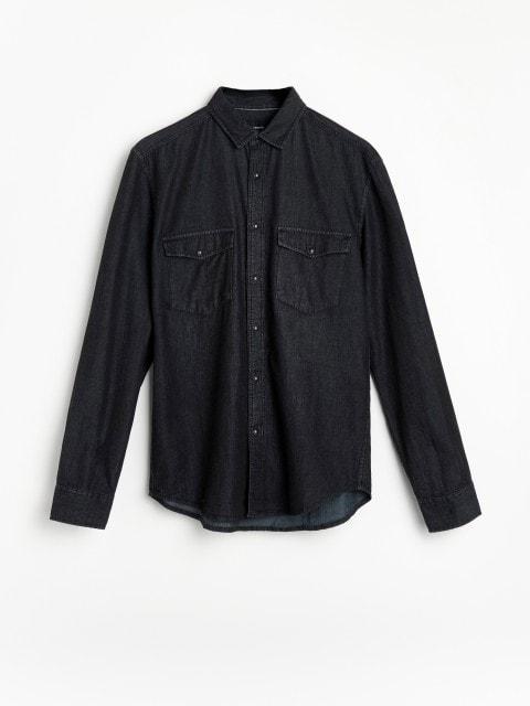 Дънкова риза от органичен памук