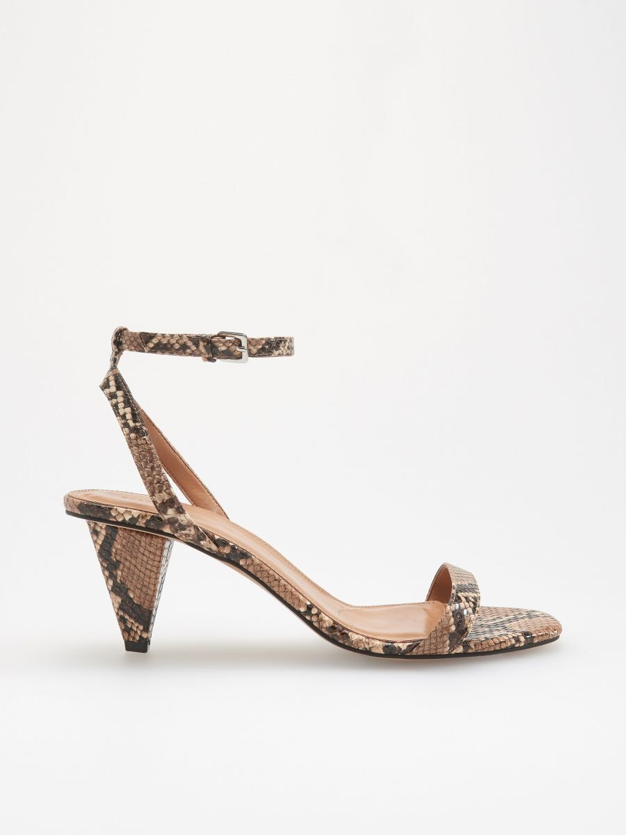 Sandály spotiskem