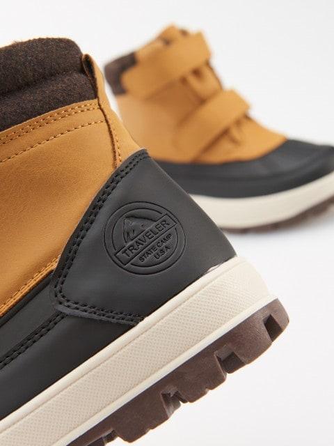 Zateplené kotníkové boty