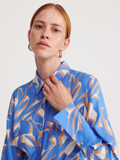 Dlouhé košilové šaty