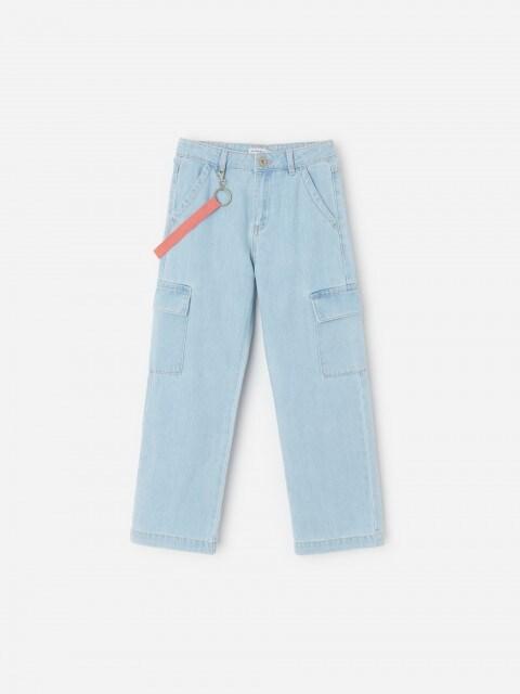 Dívčí džíny & nášivka