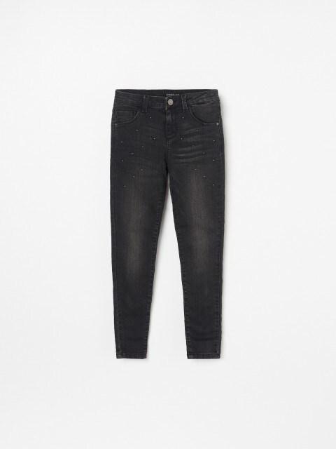 Džínové kalhoty skorálky