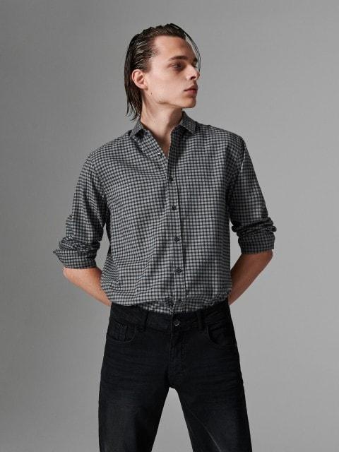 Košile spříměsí vlny