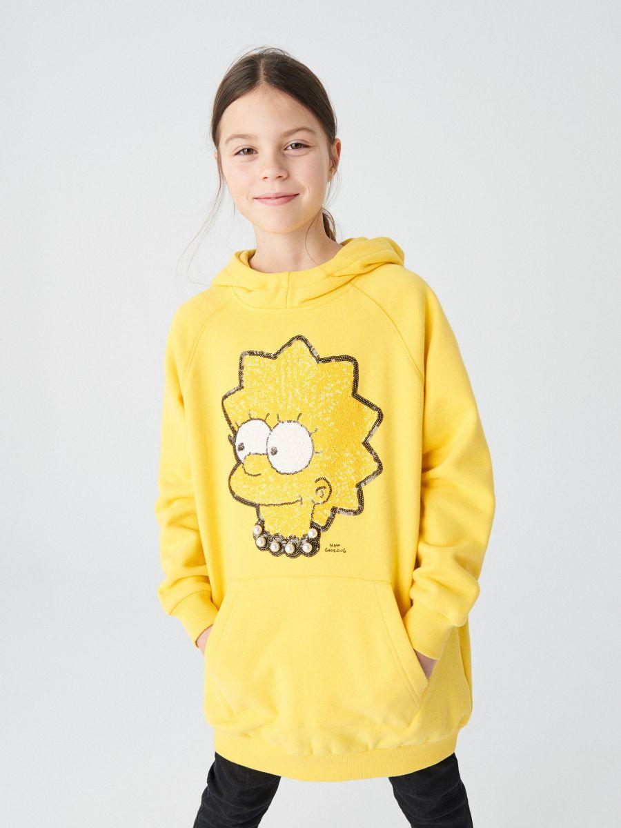 Kapuzensweatshirt The Simpsons
