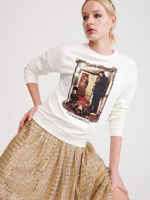Sweatshirt mit Druckmotiv Home Alone