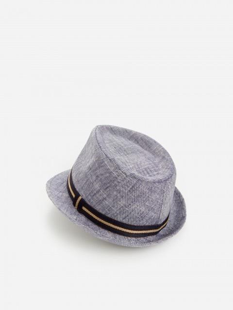 Trilby-Hut aus Viskosemischung mit hohem Leinenanteil
