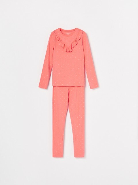 Gepunkteter Pyjama