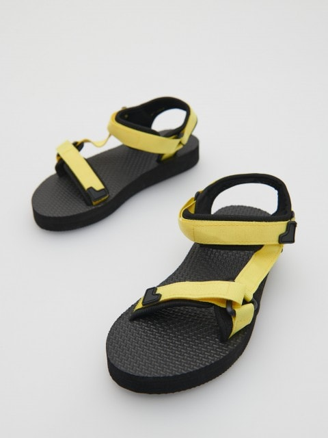 Sandals with Velcro fastening