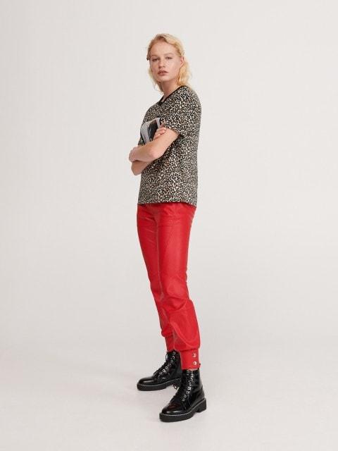 Kunstnahast püksid
