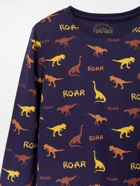 Pijama con estampado de dinosaurios