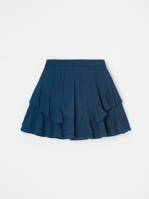 Falda de crepé