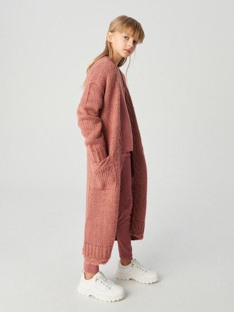 Girls` sweater