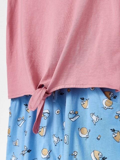 Ensemble de pyjama avec pantalon à motif