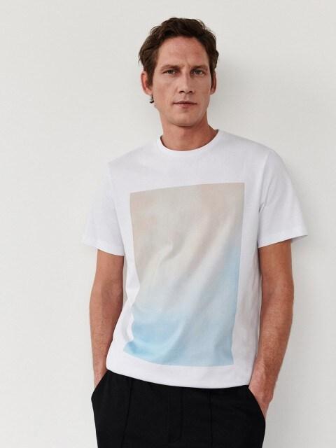 T-shirt classique à imprimé