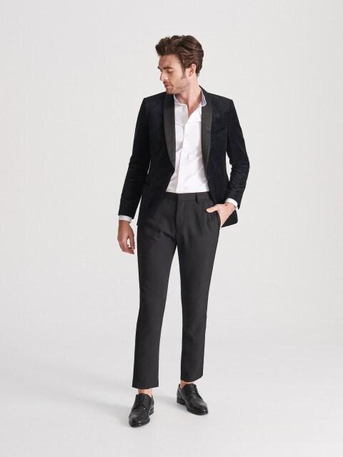 Pantalon chino à rayures latérales