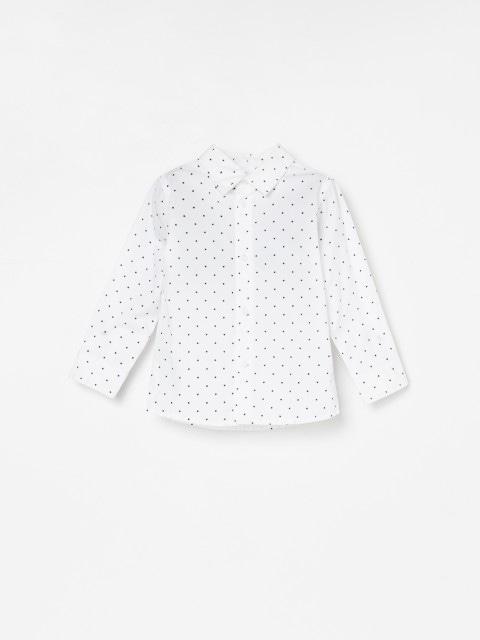 Chemise en coton à imprimé étoiles