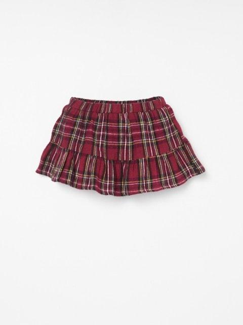 Mini-jupe à carreaux