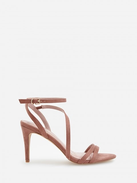 Sandales avec talon bottier haut