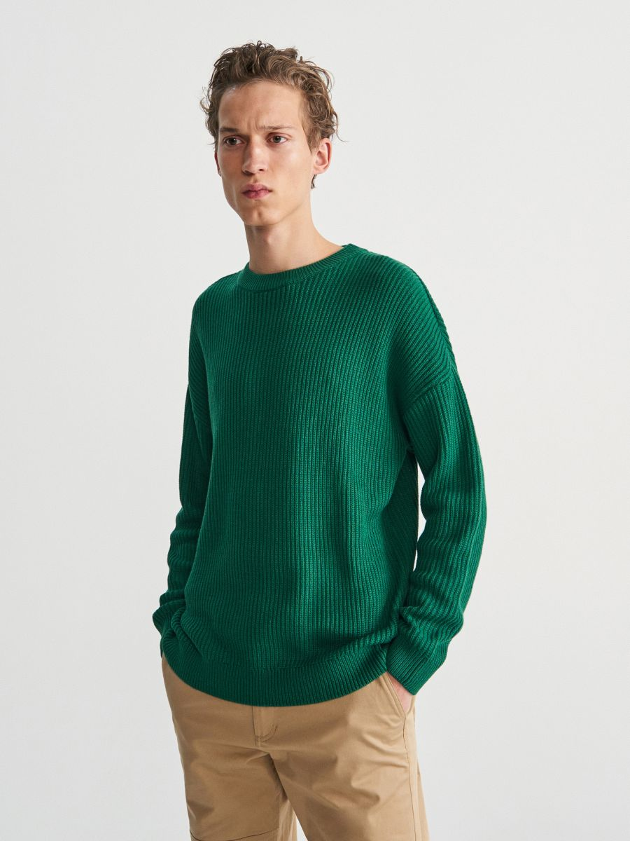 Jumper in textured knit