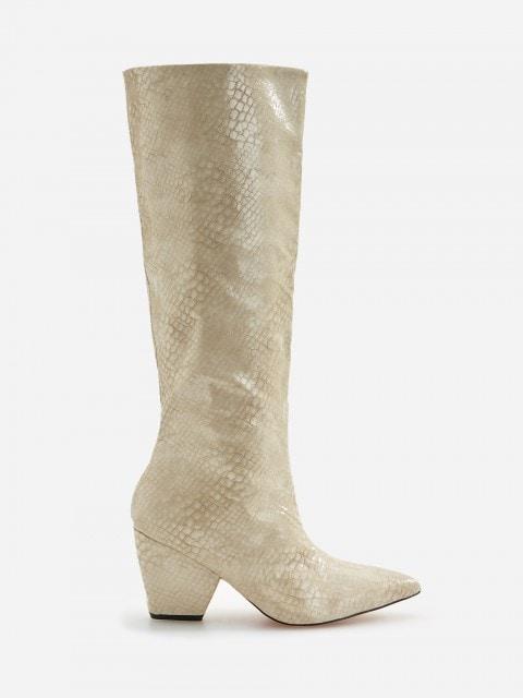 Čizme uzorka zmijske kože