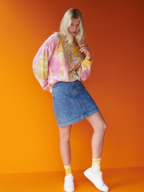 Mini suknja od trapera
