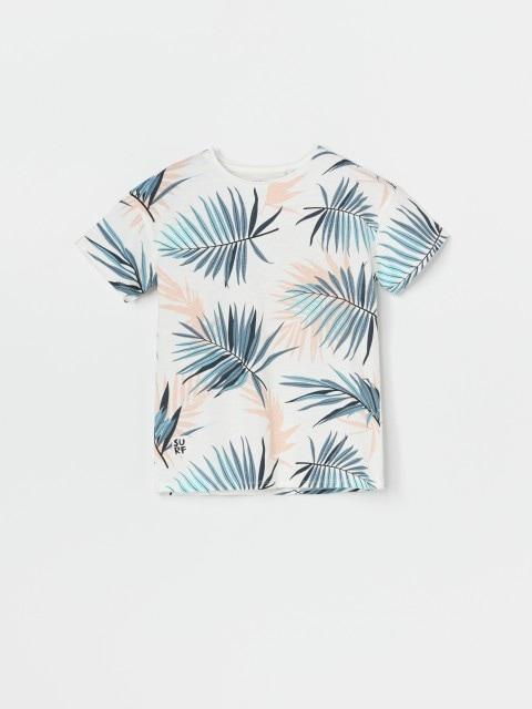 Pamučna majica kratkih rukava s uzorkom