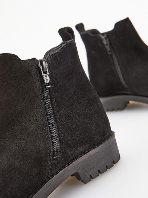 Bőr Chelsea boots