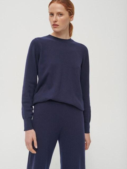 Gyapjúból és kasmírból készült pulóver