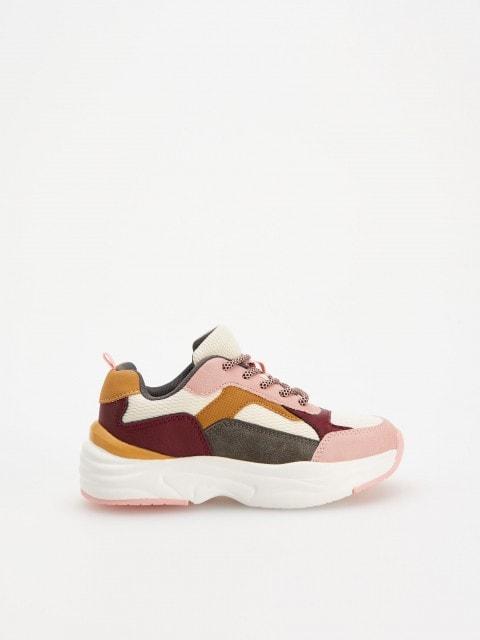 Magas talpú sneaker cipő