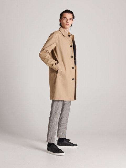 Klasszikus hosszú kabát