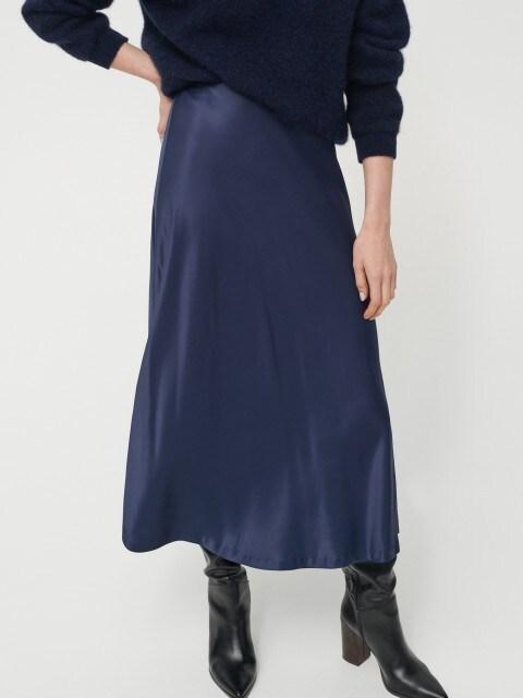 EcoVero™ satin skirt