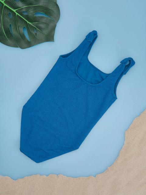 Girls` swimming suit