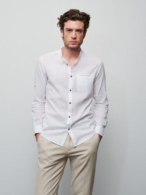Shirt in organic cotton