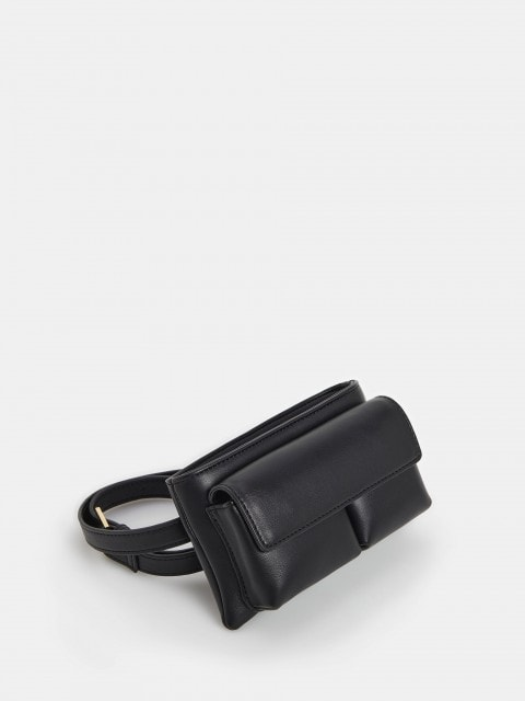 Satchel with strap
