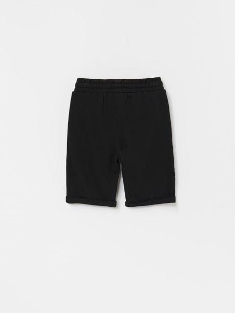 Short in maglia di misto cotone