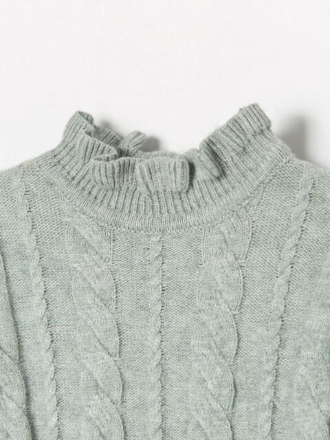 Megztinis stačia apykakle