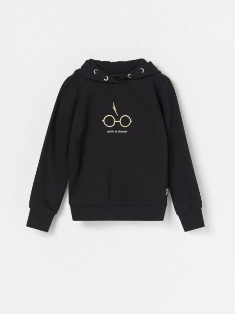 Pašiltintas džemperis su gobtuvu