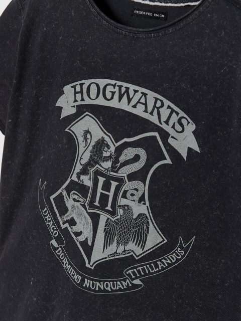 Marškinėliai su Harry Potter raštu