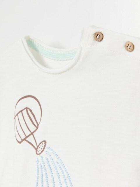 Medvilniniai marškinėliai su aplikacija
