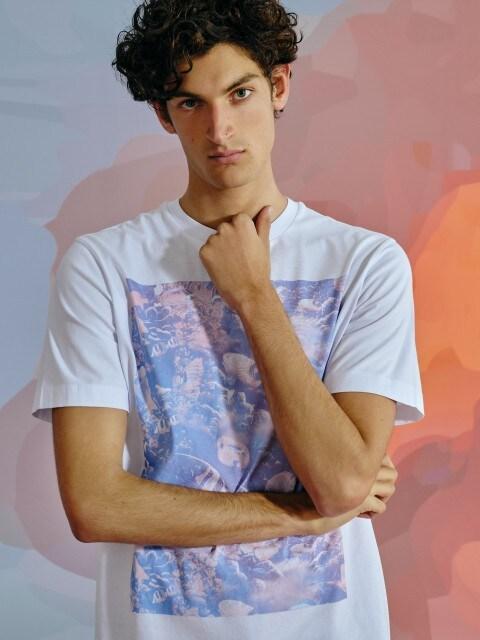 Marškinėliai su aplikacija