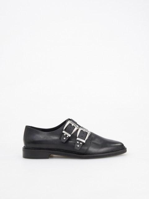Odiniai loafers stiliaus batai