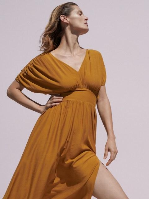 Viscose rich dress