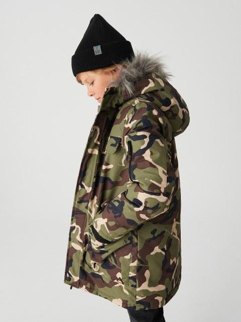 Warm hooded jacket