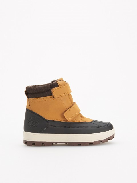 Warm knee high boots