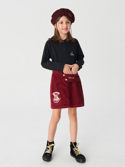 Hogwarts corduroy skirt