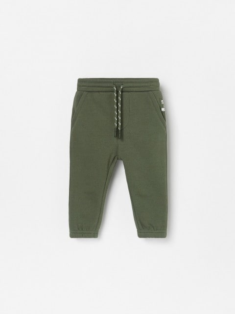 Joggers with decorative drawstrings